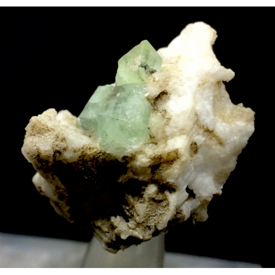 Herderite With Orthoclase