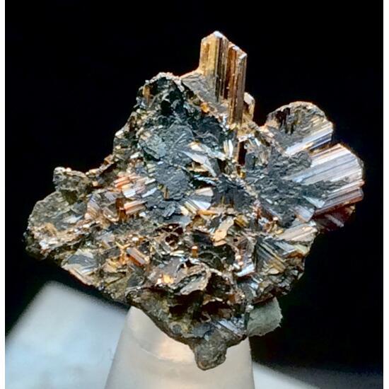 Rutile With Hematite