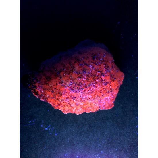 Manganoan Calcite With Manganite
