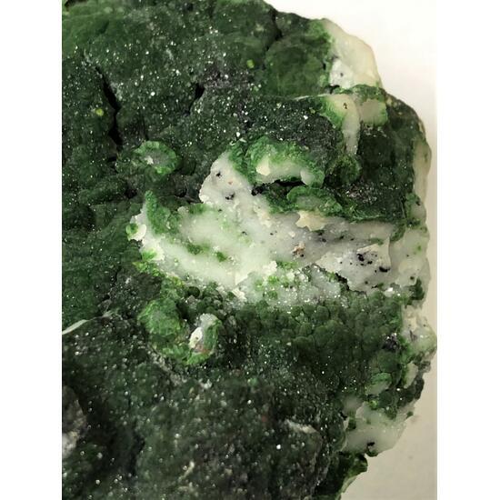 Mottramite With Calcite & Smithsonite