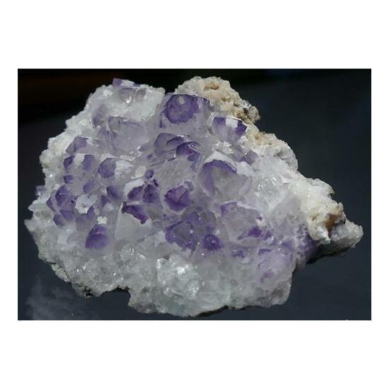 Fluorite Epistilbite & Quartz