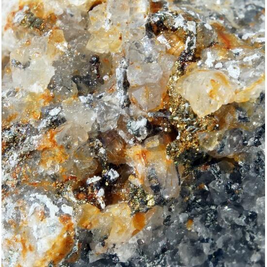 Emplectite & Chalcopyrite