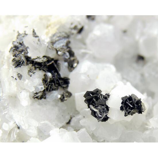 Sternbergite On Quartz