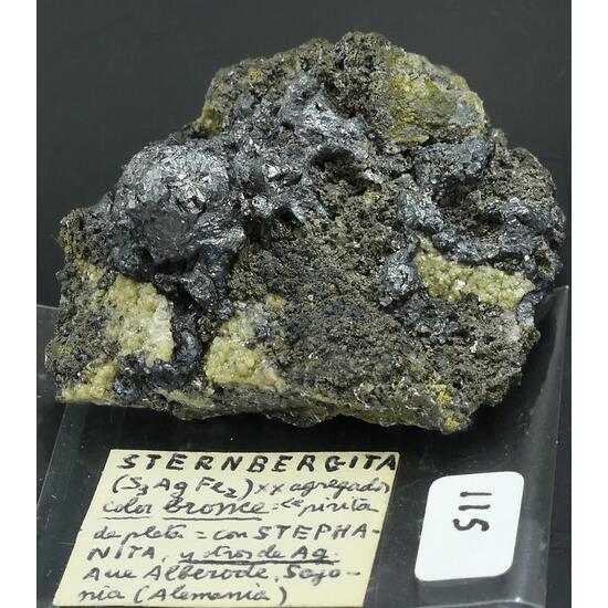 Stephanite Argentite & Argentopyrite