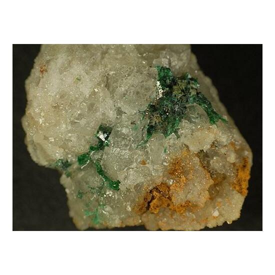 Silver & Malachite