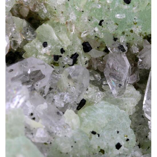 Prehnite Quartz & Babingtonite