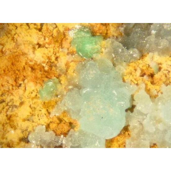 Chalcoalumite & Zeunerite
