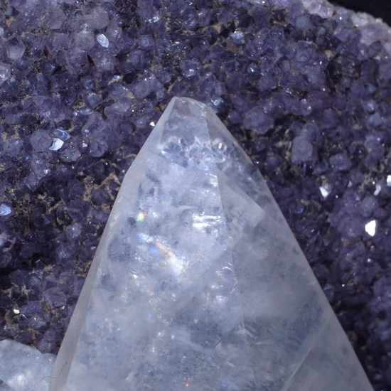 Calcite Amethyst