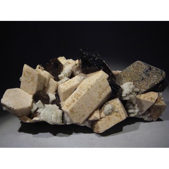 Orthoclase Albite Smoky Quartz & Muscovite
