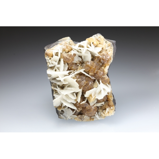 Calcite & Stilbite
