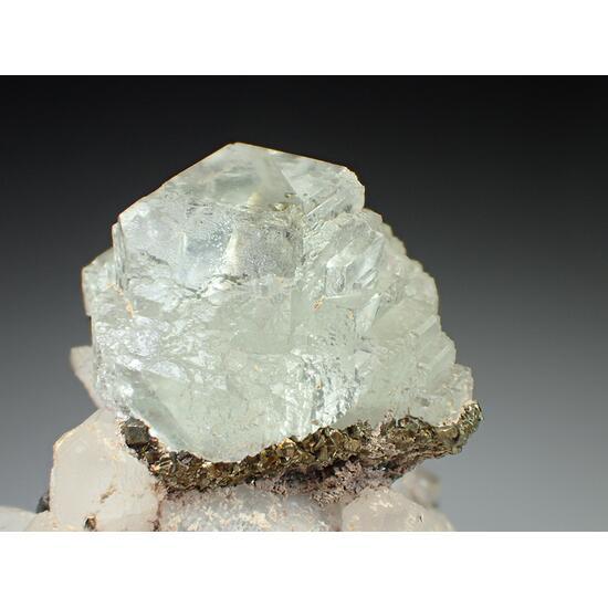 Fluorite Chalcopyrite & Calcite