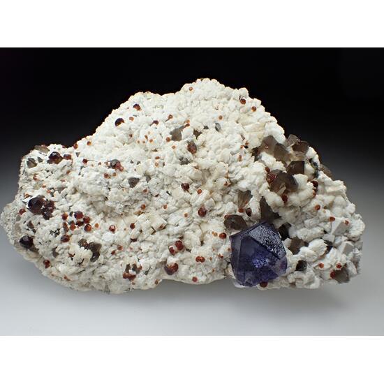 Fluorite Spessartine & Quartz