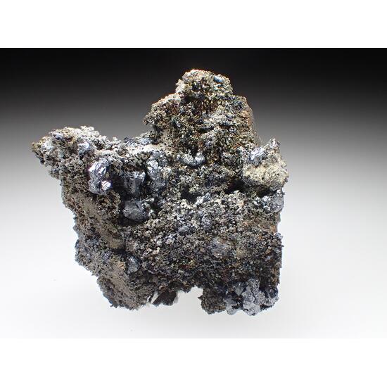 Argentopyrite Acanthite Native Silver & Stephanite