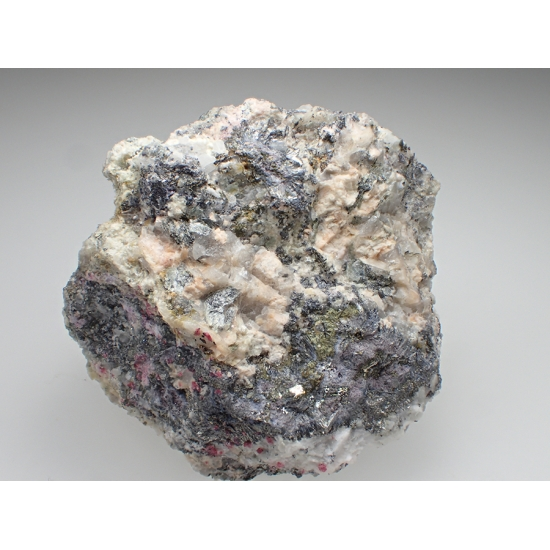 Native Bismuth Safflorite & Erythrite