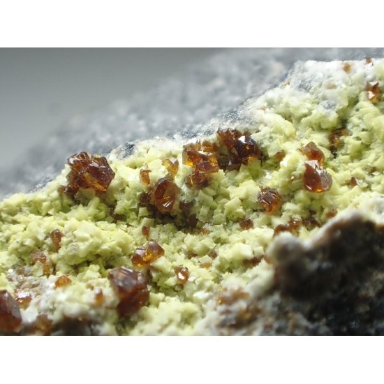 Sphalerite & Greenockite