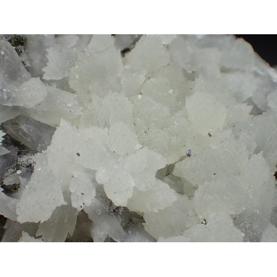 Strontianite & Chalcopyrite