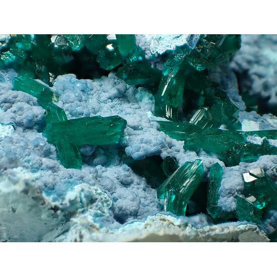 Dioptase & Plancheite