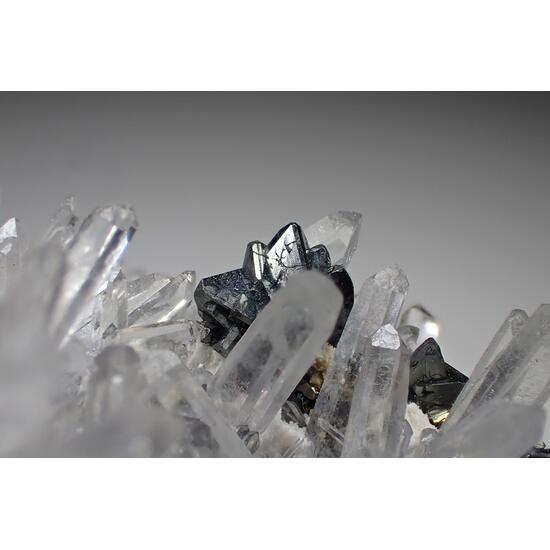 Tetrahedrite Quartz & Pyrite