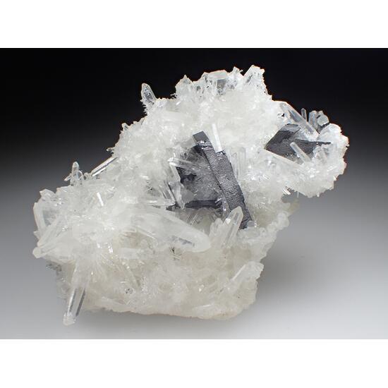 Ferberite & Quartz