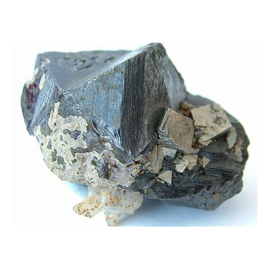 Arsenopyrite On Sphalerite