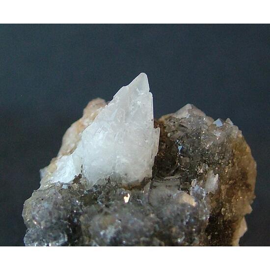 Fluorite With Calcite
