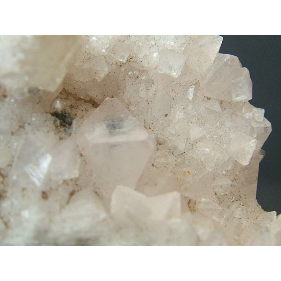 Fluorapophyllite With Quartz