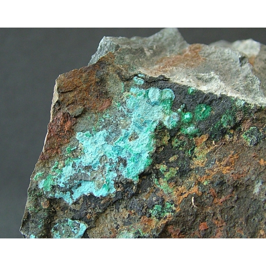 Connellite With Brochantite
