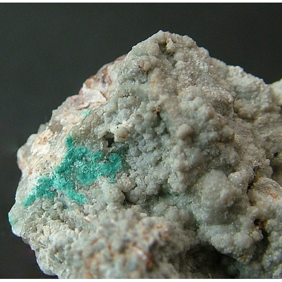Rosasite With Bustamite