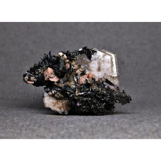 Catapleiite Rhodochrosite & Aegirine