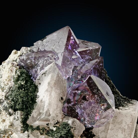 Fluorite Adularia & Chlorite