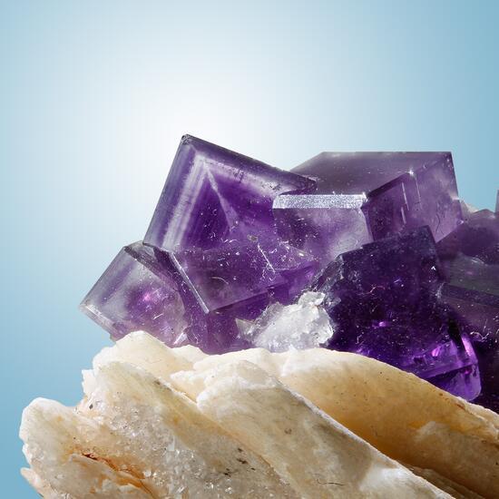 Fluorite Quartz & Baryte