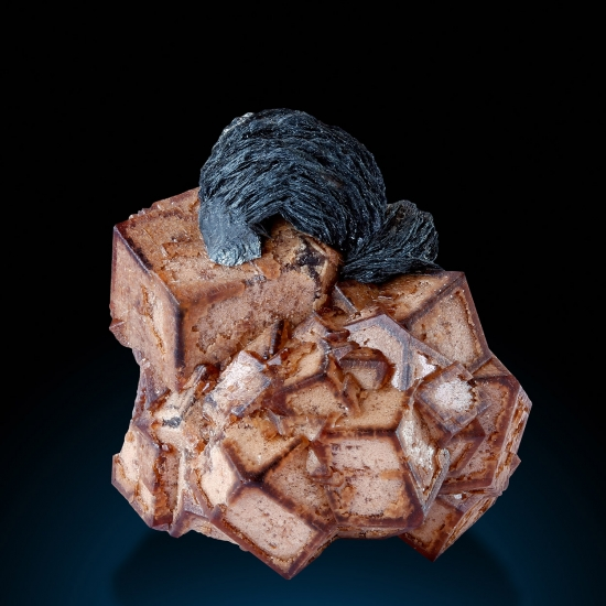 Andradite & Iron Rose