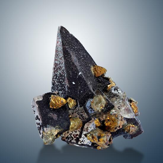 Fluorite Calcite & Chalcopyrite