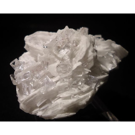 Fluorite With Baryte & Cinnabar