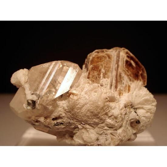 Topaz With Phlogopite & Cleavelandite