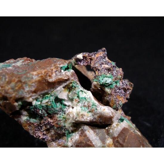 Cuprite Native Copper Azurite & Malachite