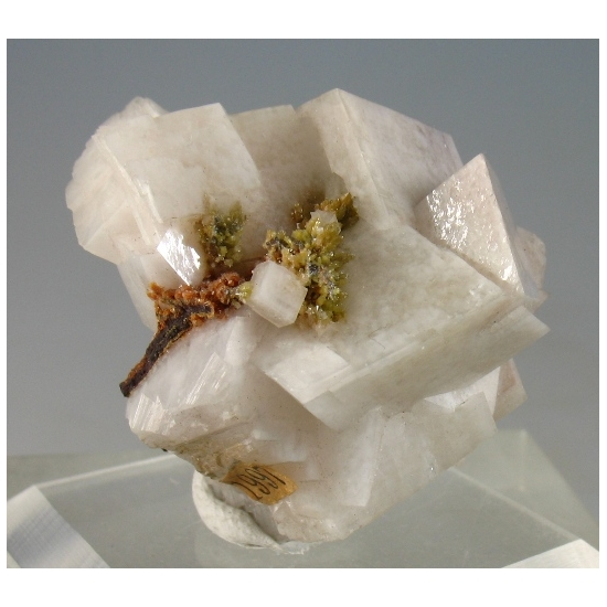 Descloizite & Pyromorphite & Calcite
