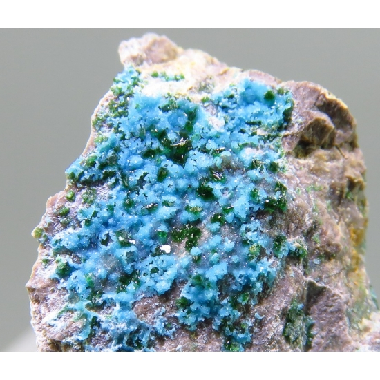 Turquoise & Libethenite