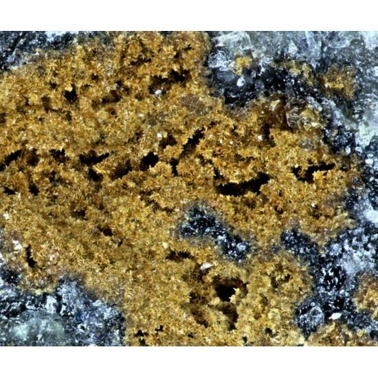 Nickelschneebergite Psm Native Bismuth