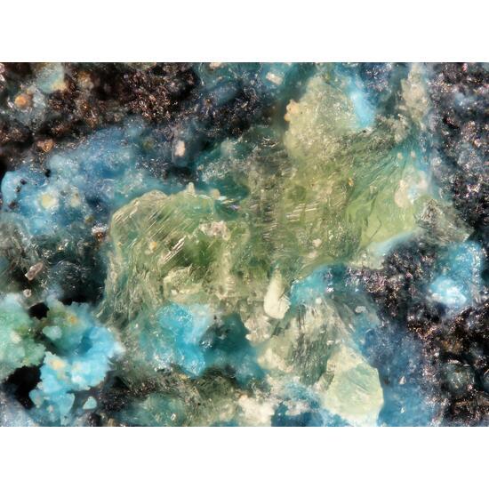 Klajite Ondrušite Olivenite & Lavendulan
