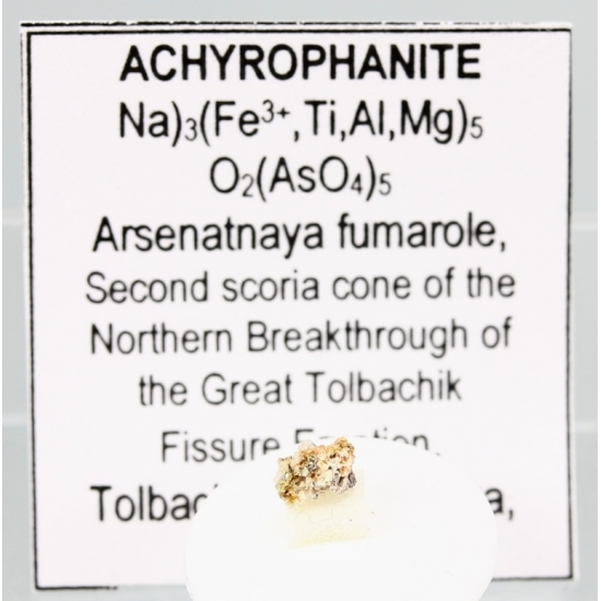 Achyrophanite