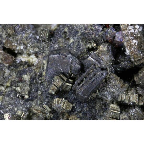 Argentopyrite Sternbergite & Proustite