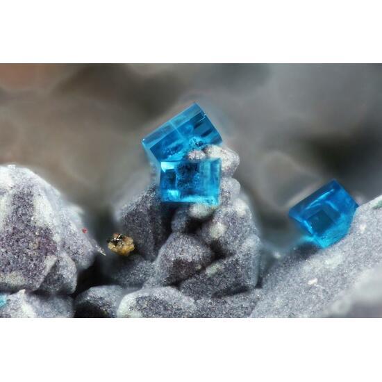 Chalcophyllite Psm Cuprite & Wroewolfeite