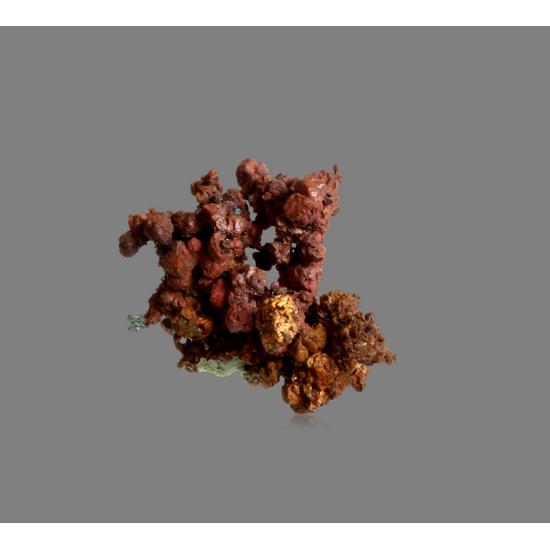 Copper With Cuprite & Malachite