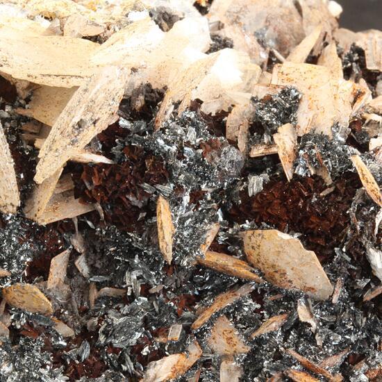 Baryte & Pyrolusite