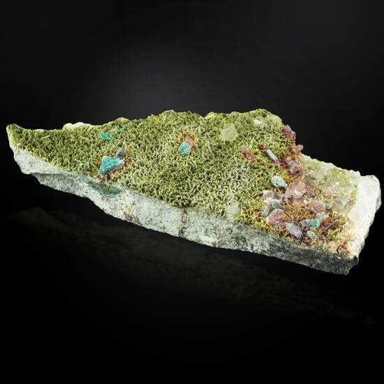 Clinozoisite Chalcopyrite & Chrysocolla