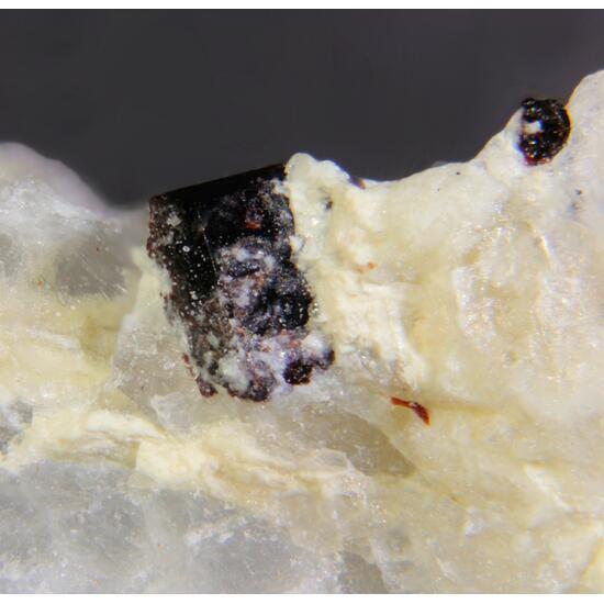 Fersmite & Manganoneptunite