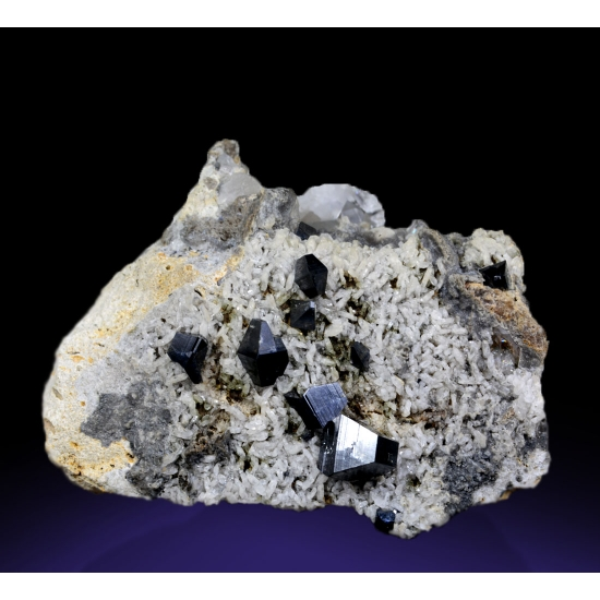 Anatase With Albite & Quartz