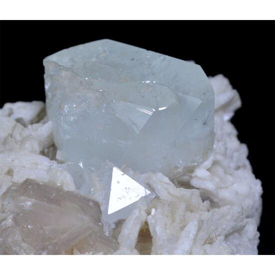 Topaz With Microlite & Lepidolite