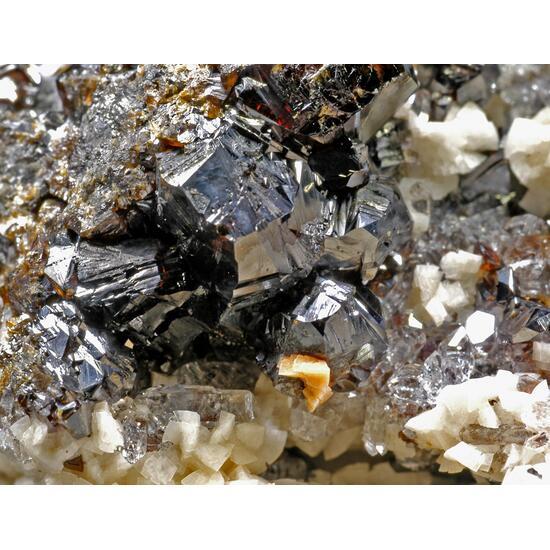 Sphalerite & Dolomite & Quartz